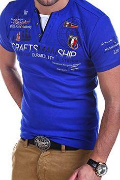 MT Styles 2in1 T-Shirt COAST Polo R-2600 [Blau, XXL]