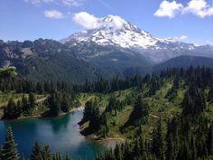 "5,407 Likes, 32 Comments - The Great PNW (@thegreat_pnw) on Instagram: ""Tolmie Peak Lookout, Mt Rainier, WA.⠀ Photo by @westcoast_josh⠀ .⠀ TheGreatPNW.com⠀ .⠀…"""