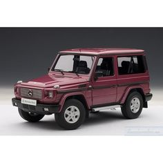 MERCEDES-BENZ G500 (RED) 1990 (SWB)