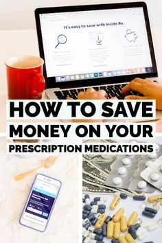 These money saving tips to keep your prescription medication affordable might just be what you need to give a little comfort to your monthly family budget. Ways To Save Money, Money Saving Tips, Saving Ideas, Monthly Budget Planner, Bookkeeping Business, Budget Help, Health Insurance Plans, Family Budget, Medical Prescription