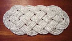 How-To:  Weave a rope mat
