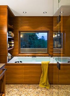 10 Tips for Japanese Bathroom Design, 20 Asian Interior Design Ideas – Lushome Asian Bathroom, Japanese Bathroom, Asian Interior Design, Japanese Interior, Bad Inspiration, Bathroom Inspiration, Scandinavian Bathroom Design Ideas, Level Design, Bad Styling
