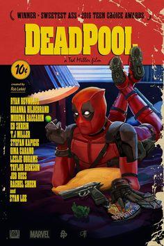 Deadpool : les plus belles affiches de fans - John Hughes