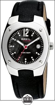 Breil TW0397 - Reloj analógico de cuarzo para mujer con correa de piel, color negro  ✿ Relojes para mujer - (Gama media/alta) ✿