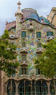 All things bright and beautiful.... — allthingseurope:      Casa Batllo, Barcelona (by...