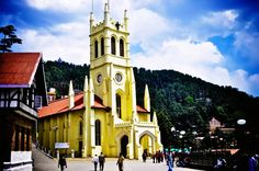 Christ Church is a must visit tourist attraction in Shimla