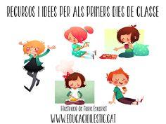 Recursos i idees per als primers dies de classe