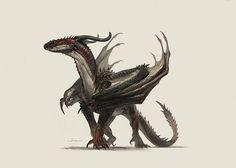 Dragon on Behance