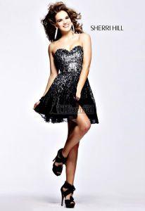 Sherri Hill 2012 Prom Dress 8413 - little black dress