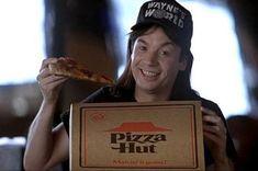 BROTHERTEDD.COM Wayne's World, Pizza Hut, Advertising, Blog, Movies, Image, Films, Blogging, Cinema
