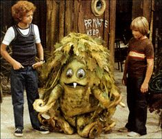 Oh Sigmund the Sea Monster and Johnny and Scott are friends...the finest friends you ever did see on the land or on the sea!!!  Now it's stuck in your head....