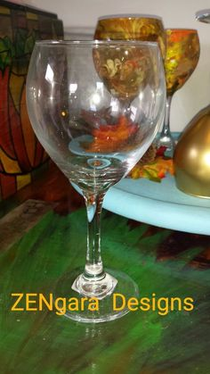 Turn Dollar Store Wine Glasses into a Shimmering Centerpiece with Unicorn Spit