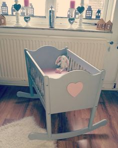 Crib baby girl