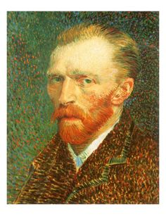 Self-Portrait, 1887 by Vincent van Gogh. Giclee print from Art.com.