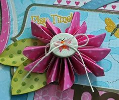 Really cute flower design.