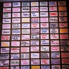 Wall of happiness. What makes you smile? A good bulletin board idea. This could even be used to help decorate the hall.: