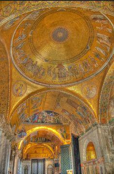 Golden Mosaics at the Basilica di San Marco a Venezia - St… | Flickr