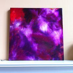Abstract Art Painting Still Silenced Original by GirlBurkeStudios, $695.00