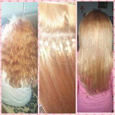 Microlink hair extension