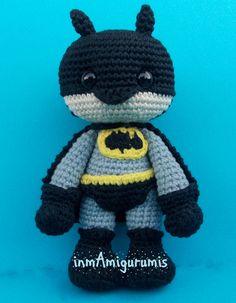 batman con capa Batman, Mantle, Amigurumi
