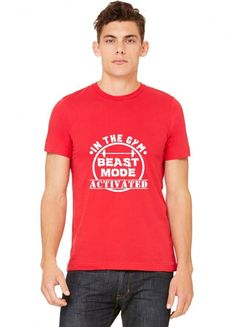 in the gym beast mode T-Shirt
