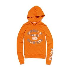 Victoria'S Secret University Of Tennessee Pullover Hoodie ($35) ❤ liked on Polyvore featuring tops, hoodies, jackets, shirts, women, pattern shirt, pullover hoodies, hooded sweatshirt, pink victoria secret hoodies and distressed shirt