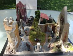 Highly Detailed Plastic Model Kits Ukrainian Manufacturer World Wide Distributor WW II Military Miniatures Dioramas Building and Accessories Historical Figures Plastic Model Kits, Plastic Models, Farm Yard, Mount Rushmore, Fountain, France, Gallery, World, Pictures