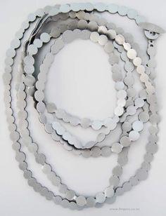 "Contemporary New Zealand Jewellery by Renee Bevan, Jenny Braithwaite, Octavia Cook, Andrea Daly, Anna Ward, ""New Necklaces"""