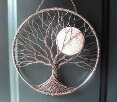 Image result for tuto arbre de vie mural attrape reves