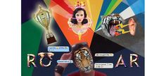 My Photoshop Creation, it is based on Katy Perry's new single, Roar, with a tiger face, a trophy, a tiger roaring, and Teenage Dream album's photo.