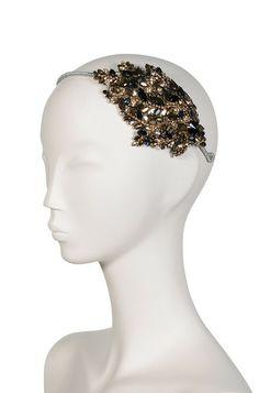 Stellina Headdress III Jet Dorado - Jenny Pakham £344