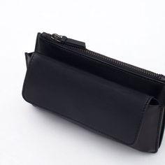 Image 3 of MINI LEATHER BELT BAG from Zara