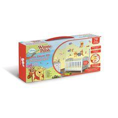 Walltastic Disney Winnie the Pooh Room Decor Kit - http://www.godecorating.co.uk/walltastic-disney-winnie-pooh-room-decor-kit/