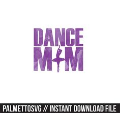 dance mom purple watercolor clip art, Svg, Cricut Cut Files, Silhouette Cut Files  This listing is for an INSTANT DOWNLOAD. You can easily create