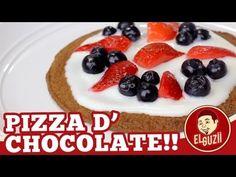 Pizza de Chocolate (Postre) ♥ San Valentín, 14 de Febrero - El Guzii (+l...