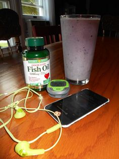 you want to ace that exam right? well you can, there are simple measures to take. EXERCISE with your favorite tunes beforehand, take your vitamins, (omega 3s are essential to your health) and maybe whip up a smoothie (this one is made out of a cup of blueberries, one banana,and 1/2 cup of plain yogurt) as a power drink. the pedometer is there to indicate how I like to personally keep track of my running abilities. :) good luck with everything! <3