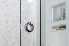 Shower Door Handle Eclipse Glass-Port Moody Showroom