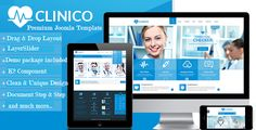 Clinico - Premium Medical and Health Joomla Template . Clinico is a powerful multipurpose responsive Joomla template suitable for medical and health related businesses. Its fresh and clean design makes it applicable for corporate websites, personal blogs, product-oriented sites as well.  It looks great on tablets and mobile devices due to its