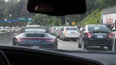 市街地に近づくにつれ渋滞が酷くなる。。。