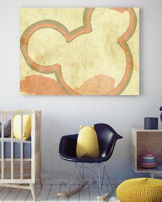 Mickey Mouse Abstract Canvas Art @ http://artzeedesigns.com/products/mickey-mouse-abstract-canvas-art.html