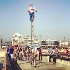 On the Venice Pier (Instagram)
