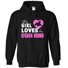 Girls love her Afghan Hound T-Shirts, Hoodies. CHECK PRICE ==►…