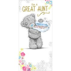 Great Aunt Me to You Bear Birthday Card  £1.89