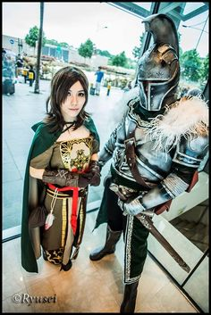 Dark Souls II Cosplay - Faraam and Emerald Herald by Mekiwates.deviantart.com on @deviantART