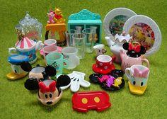 Re-ment (Rement) Disney Vintage Tableware Collection, via Flickr.