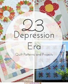23 Depression Era Quilt Patterns and Projects   FaveQuilts.com