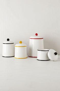 Striped Kitchen Jar from Anthropologie - $48.00