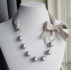 Pearls & Ribbon