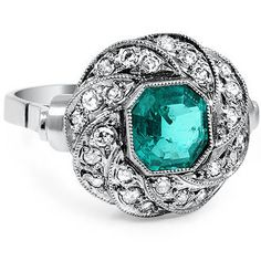 18K White Gold The Nerine Ring from Brilliant Earth
