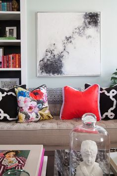 The Makerista: Living Room Color